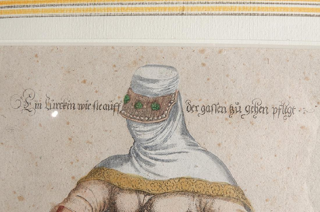 Pair of Engravings of Exotic Costumes - 5