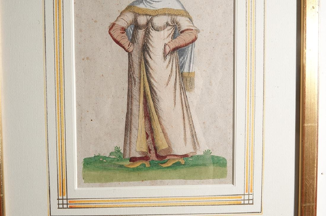 Pair of Engravings of Exotic Costumes - 8