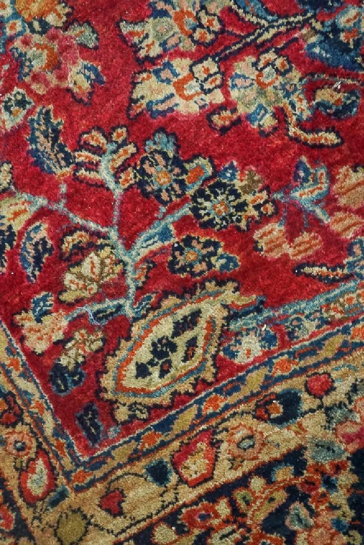 Semi Antique Sarouk Carpet - 10