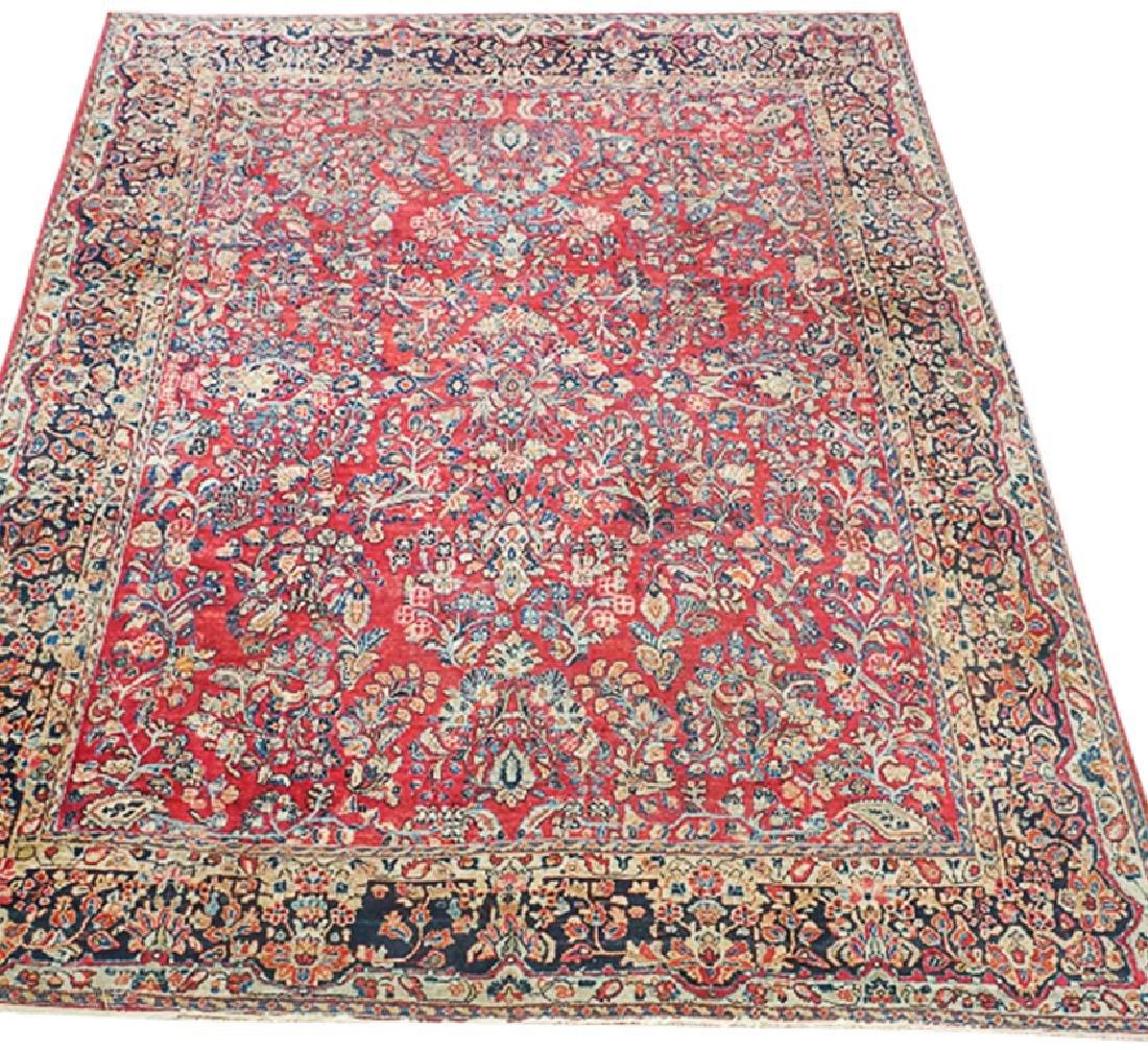 Semi Antique Sarouk Carpet