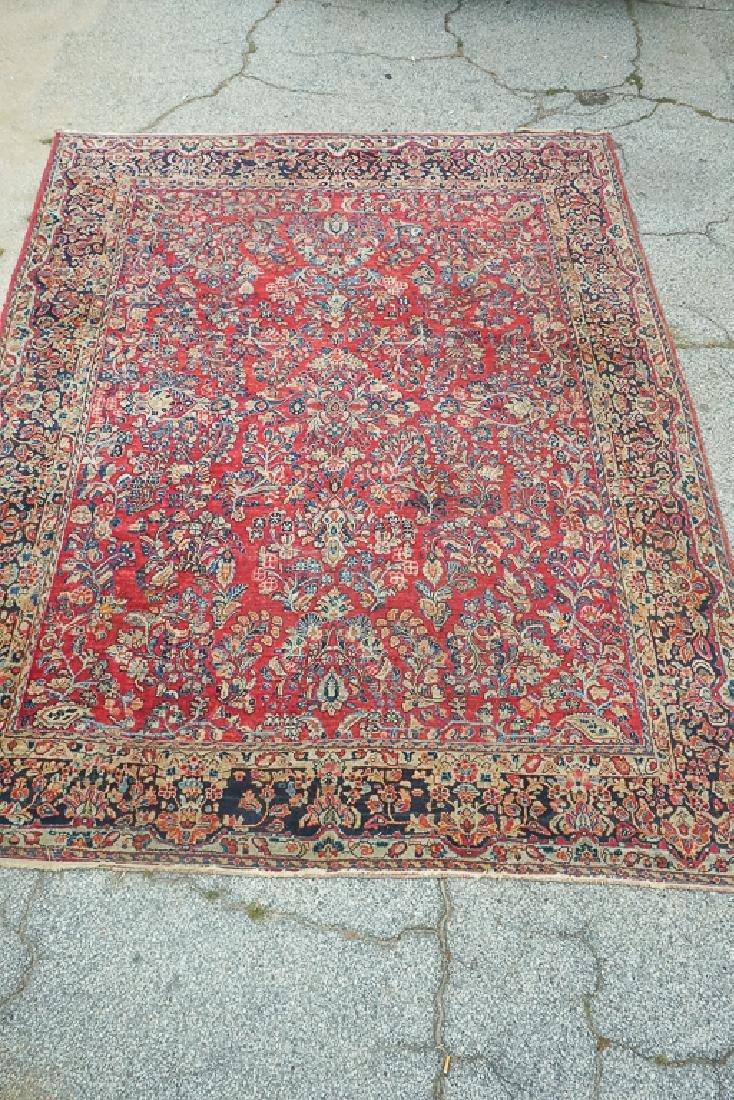 Semi Antique Sarouk Carpet - 2