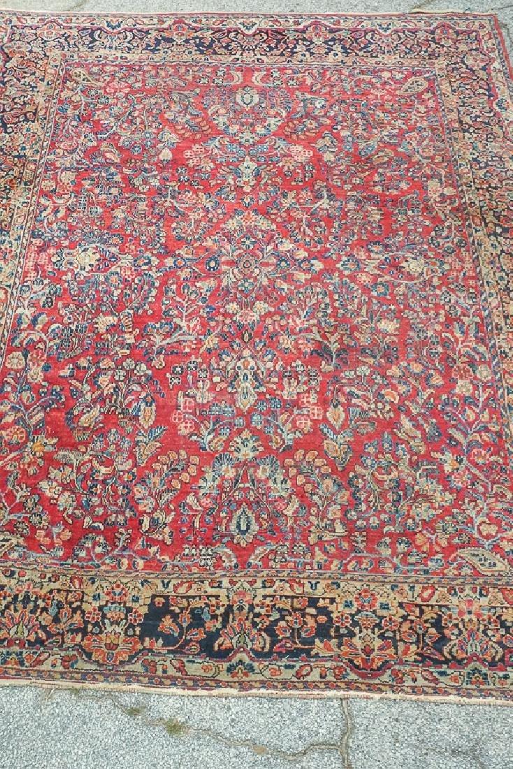 Semi Antique Sarouk Carpet - 3