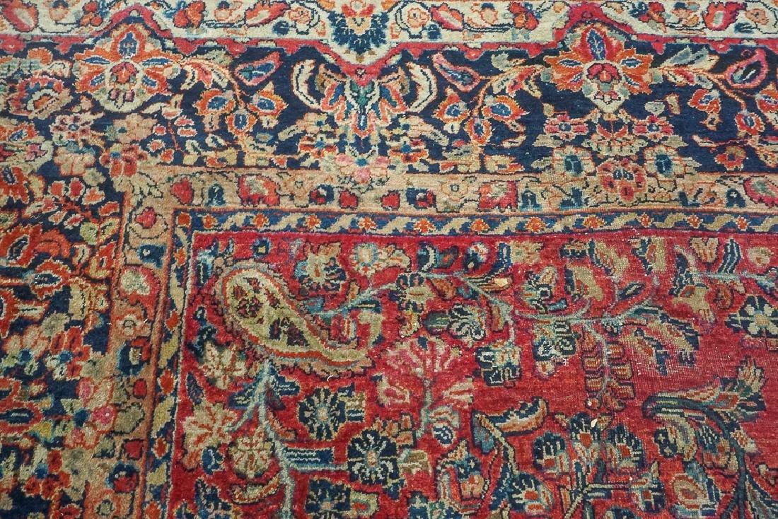 Semi Antique Sarouk Carpet - 4
