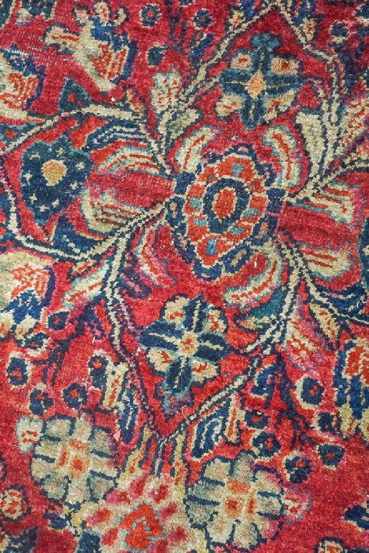 Semi Antique Sarouk Carpet - 5