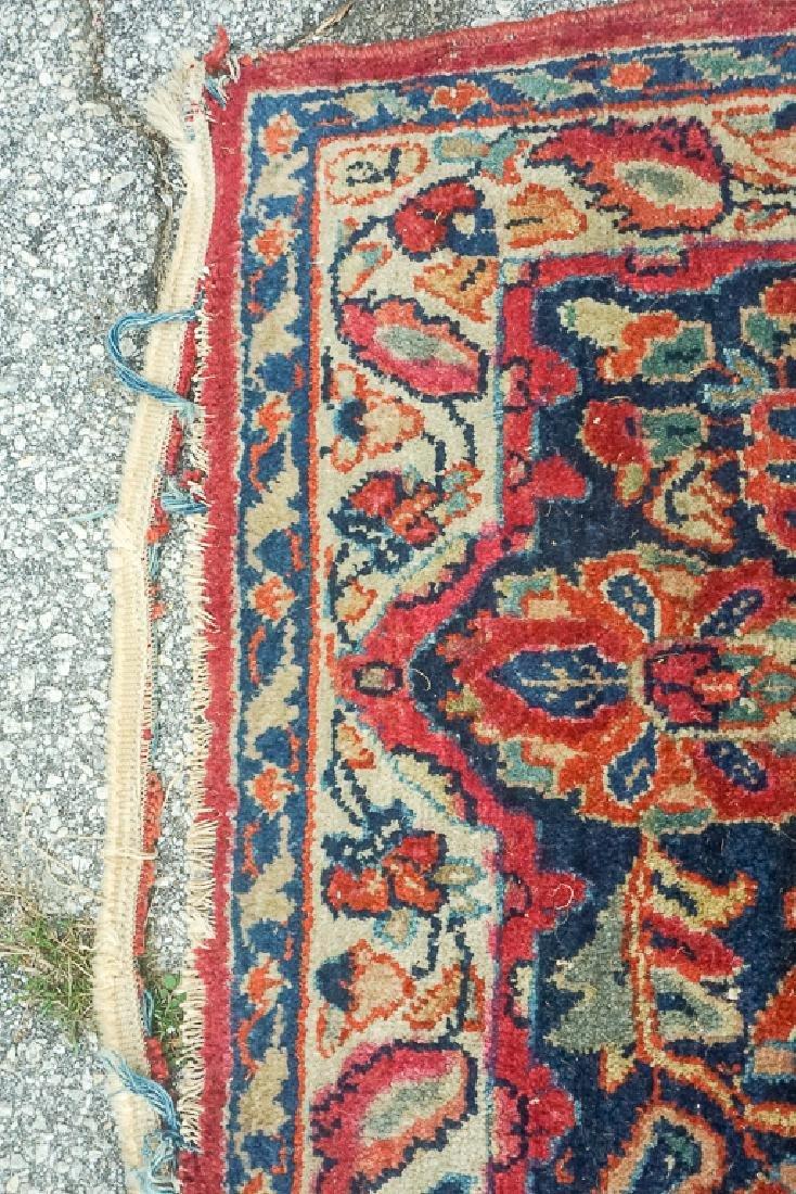 Semi Antique Sarouk Carpet - 6
