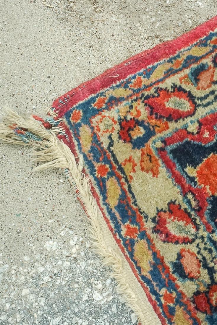 Semi Antique Sarouk Carpet - 7