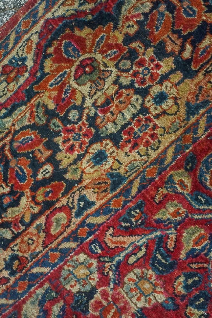 Semi Antique Sarouk Carpet - 9