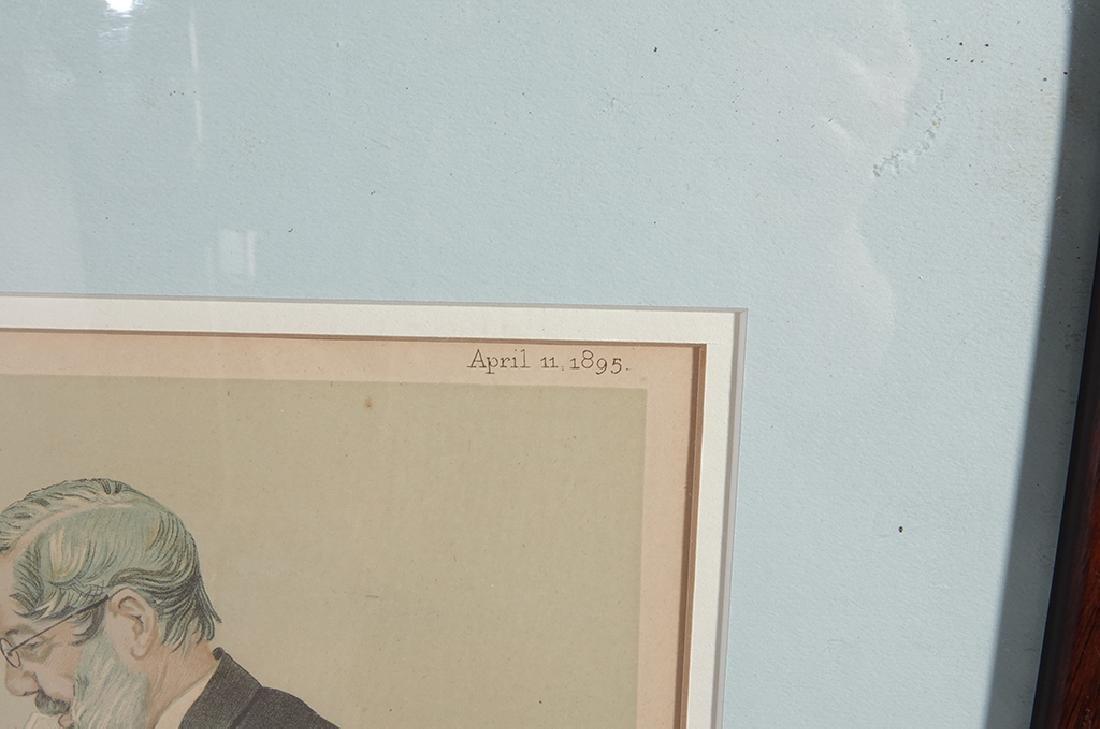 Set of Four (4) VANITY FAIR Prints by SPY - 3