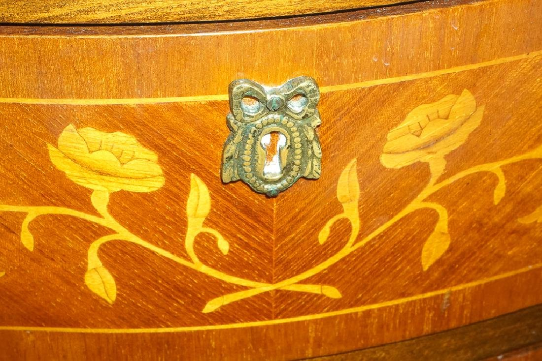 French Marquetry Commode - 5