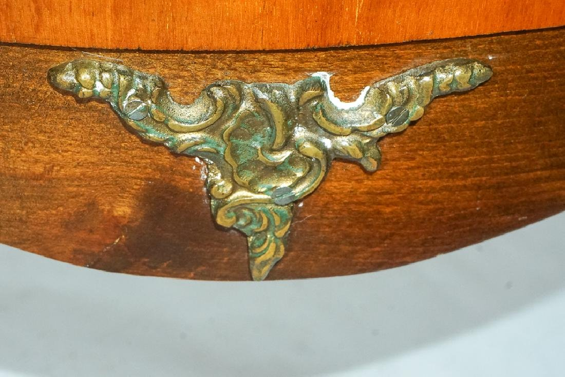 French Marquetry Commode - 7