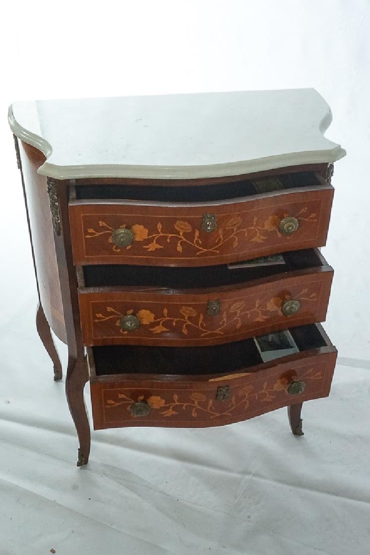 French Marquetry Commode - 8