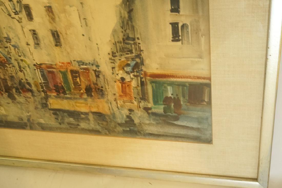 "European School, ""Lively Street Scene"" - 5"