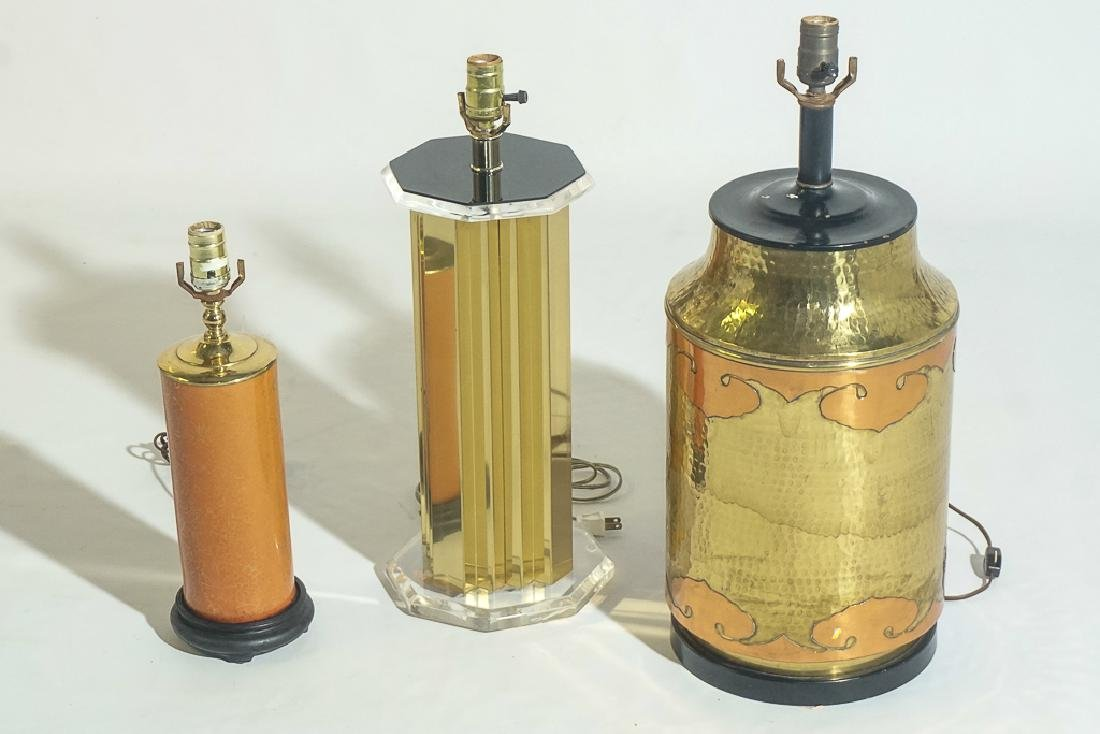 Group of Three Lamps - 2