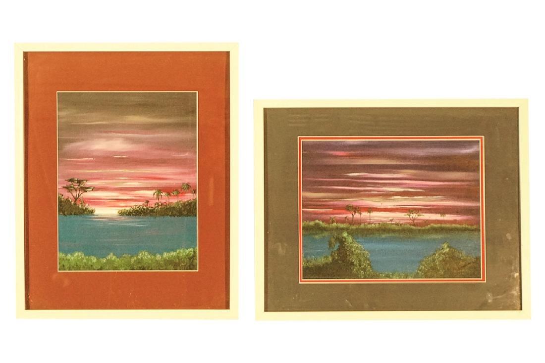 Pair Decorator Landscapes