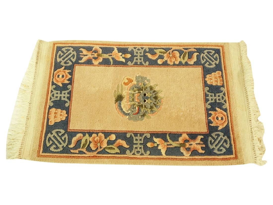 Chinese Rug with Dragon