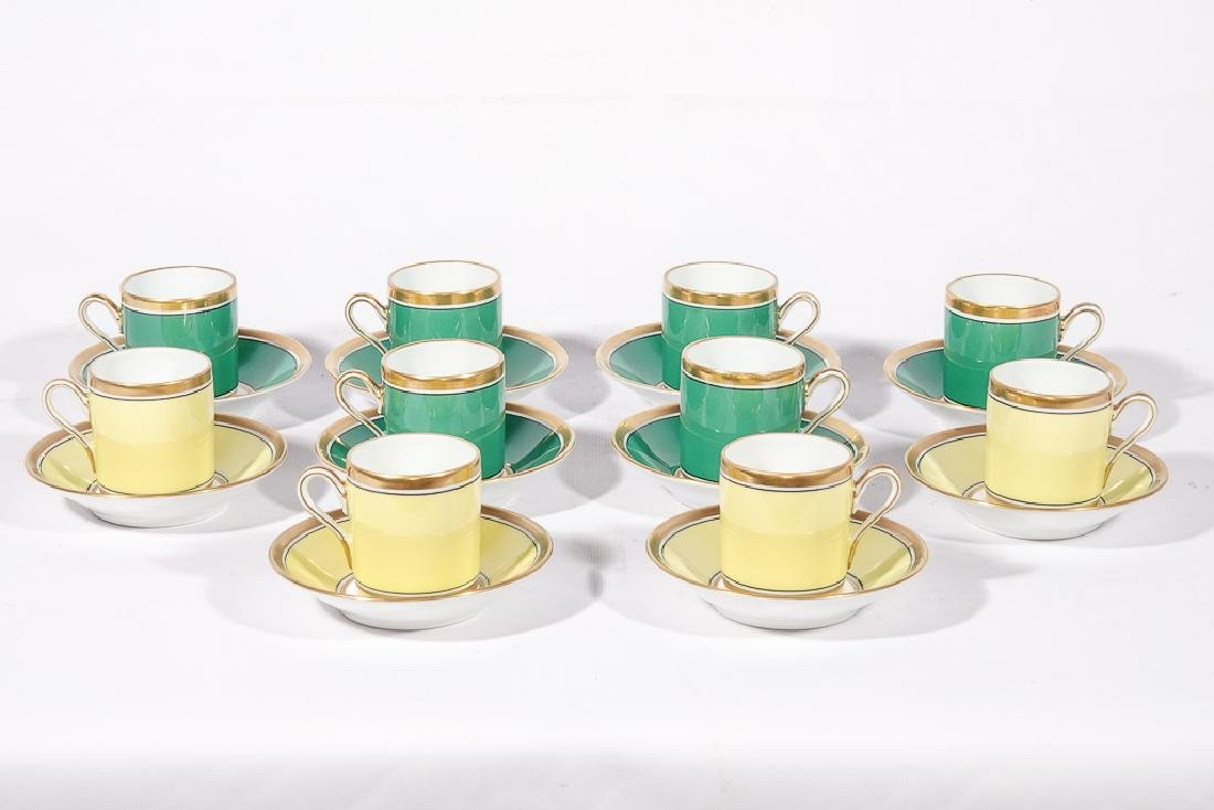 Ten (10) Richard GINORI Demitasse Cups - 2