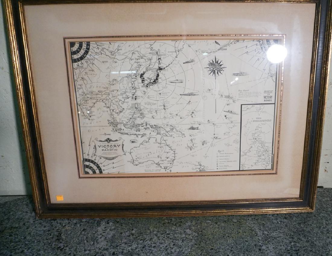 World War II Victory Map
