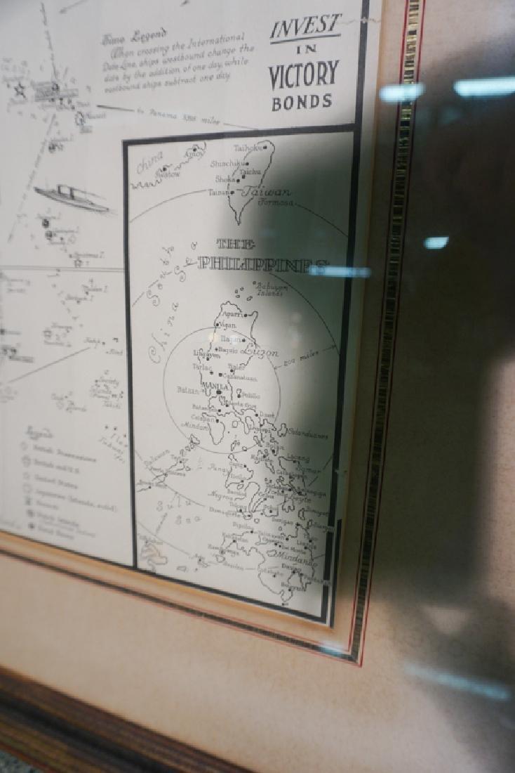 World War II Victory Map - 2