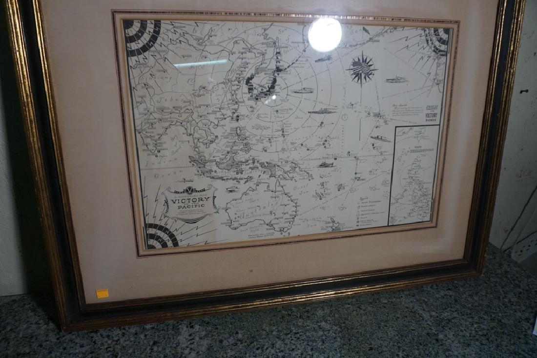 World War II Victory Map - 3