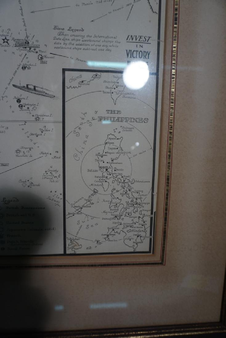 World War II Victory Map - 4
