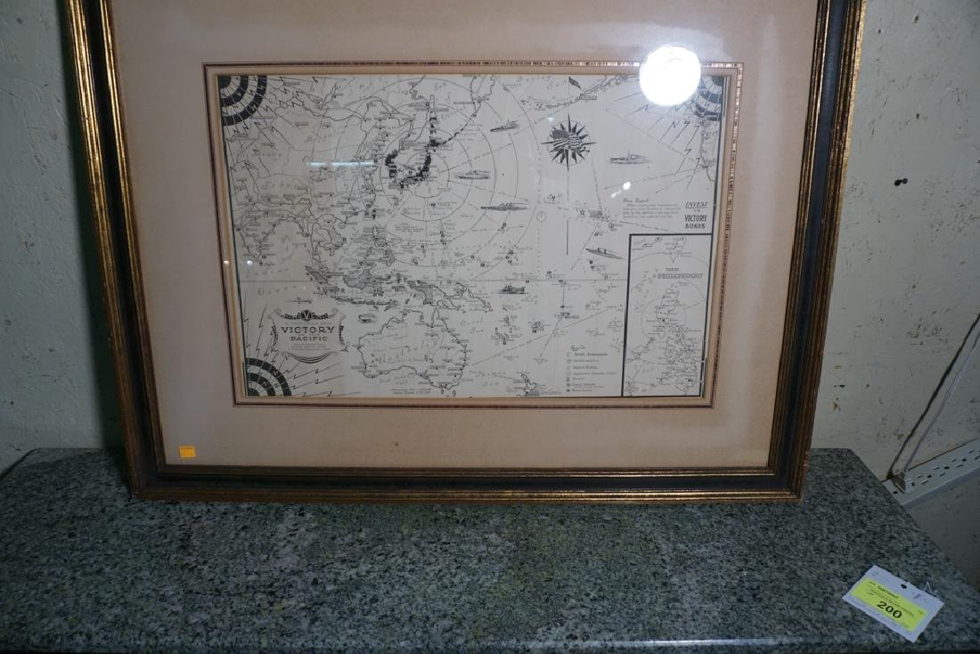 World War II Victory Map - 5