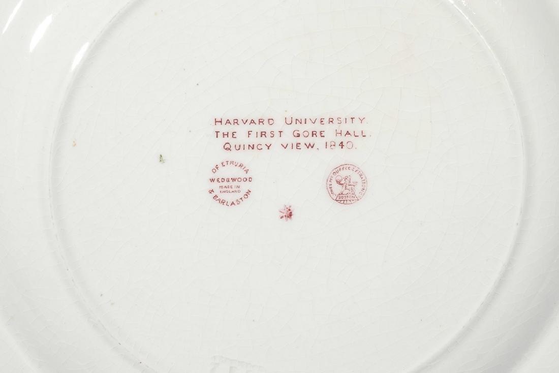 "WEDGWOOD ""Harvard"" 12 Commemorative Plates - 10"