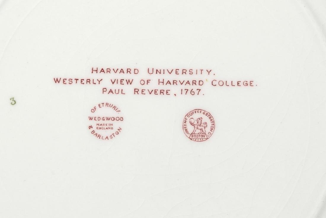 "WEDGWOOD ""Harvard"" 12 Commemorative Plates - 7"
