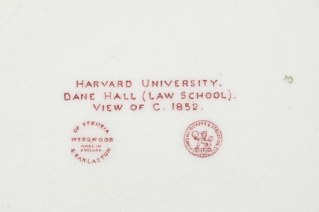 "WEDGWOOD ""Harvard"" 12 Commemorative Plates - 8"