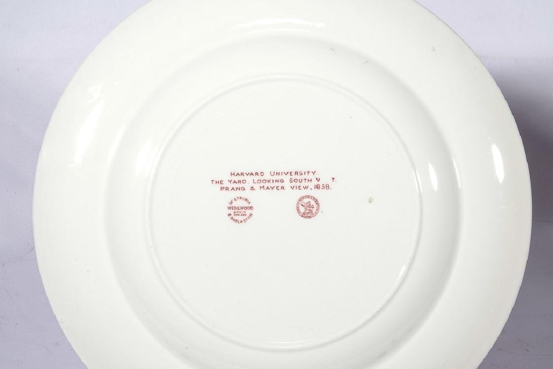 "WEDGWOOD ""Harvard"" 12 Commemorative Plates - 9"
