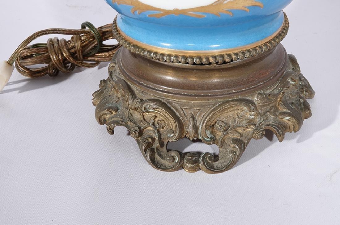 Napoleon III Sevres Style Lamp - 10