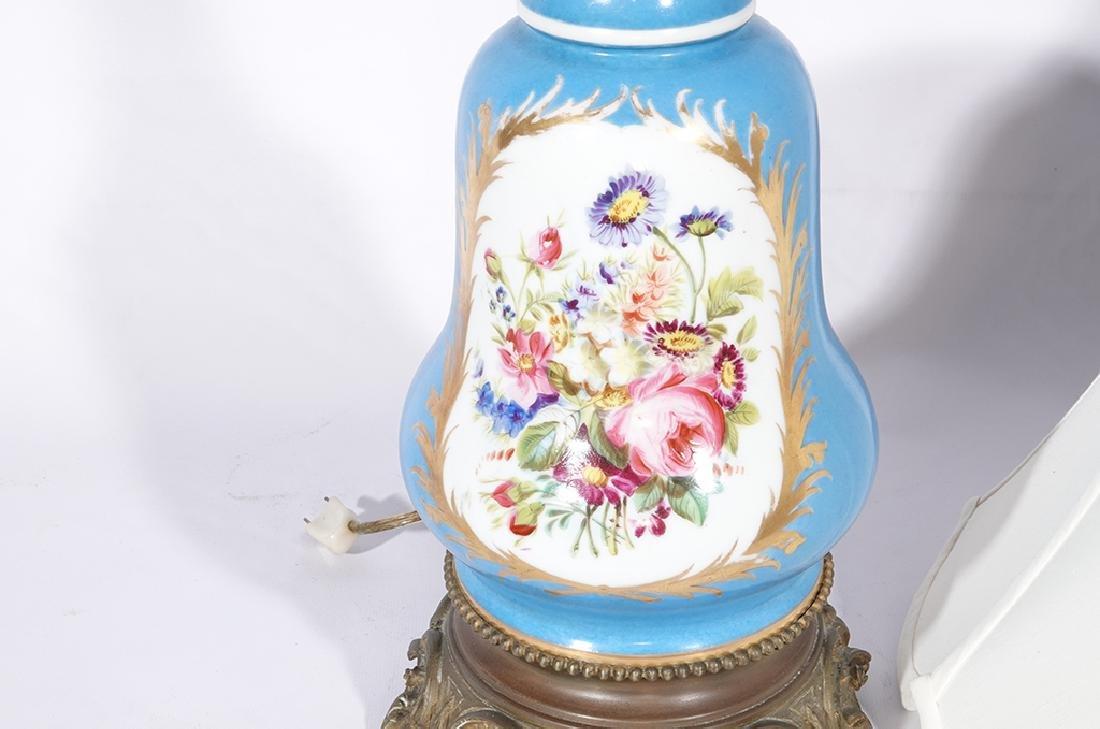 Napoleon III Sevres Style Lamp - 2