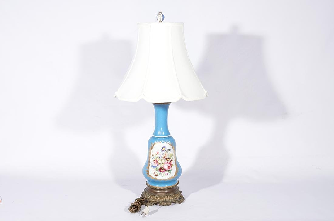 Napoleon III Sevres Style Lamp - 6