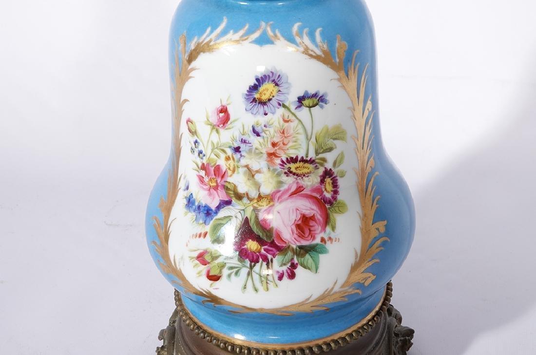 Napoleon III Sevres Style Lamp - 8