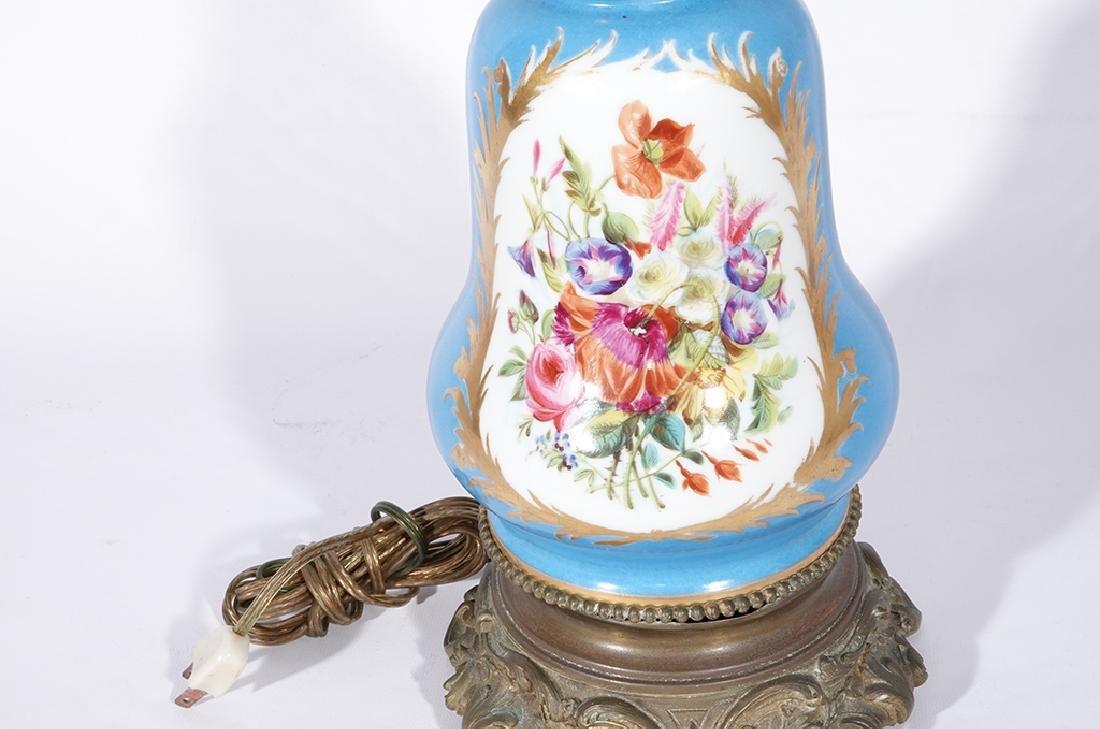 Napoleon III Sevres Style Lamp - 9