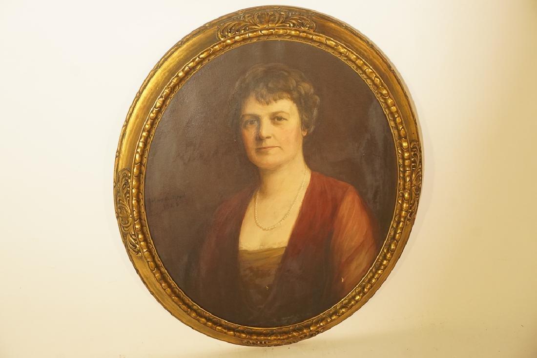 American School, Portrait of an Elegant Lady - 2