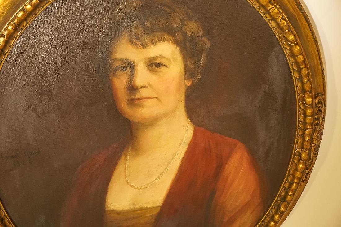 American School, Portrait of an Elegant Lady - 4
