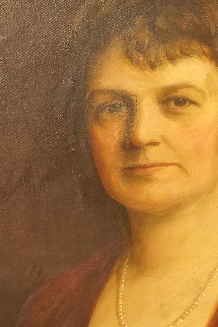 American School, Portrait of an Elegant Lady - 5