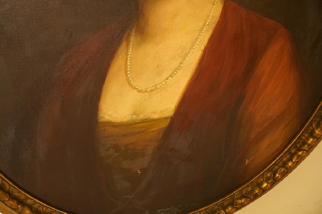 American School, Portrait of an Elegant Lady - 6