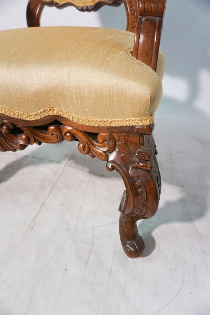 Pair of 20th c Rococo Revival Chairs - 2