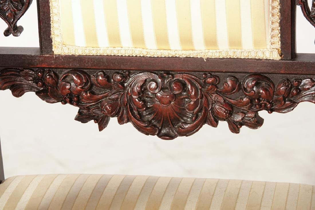 Two (2) Jacobean Style Armchairs - 8