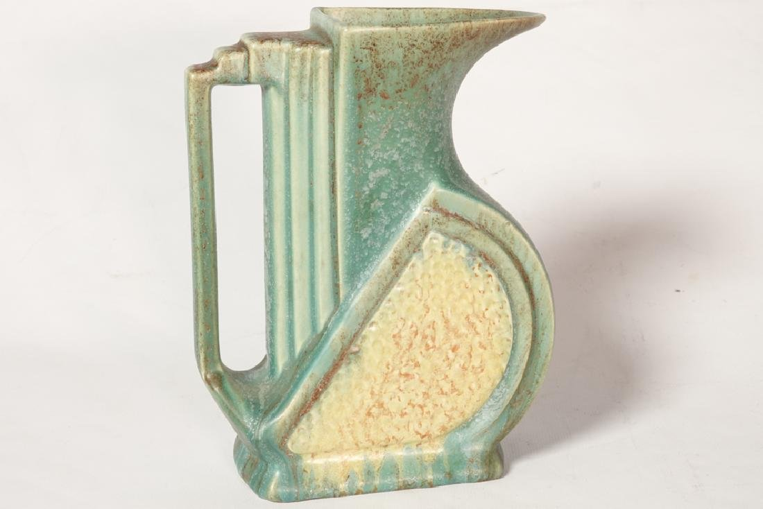 Mid 20th c Belgian Pottery Pitcher