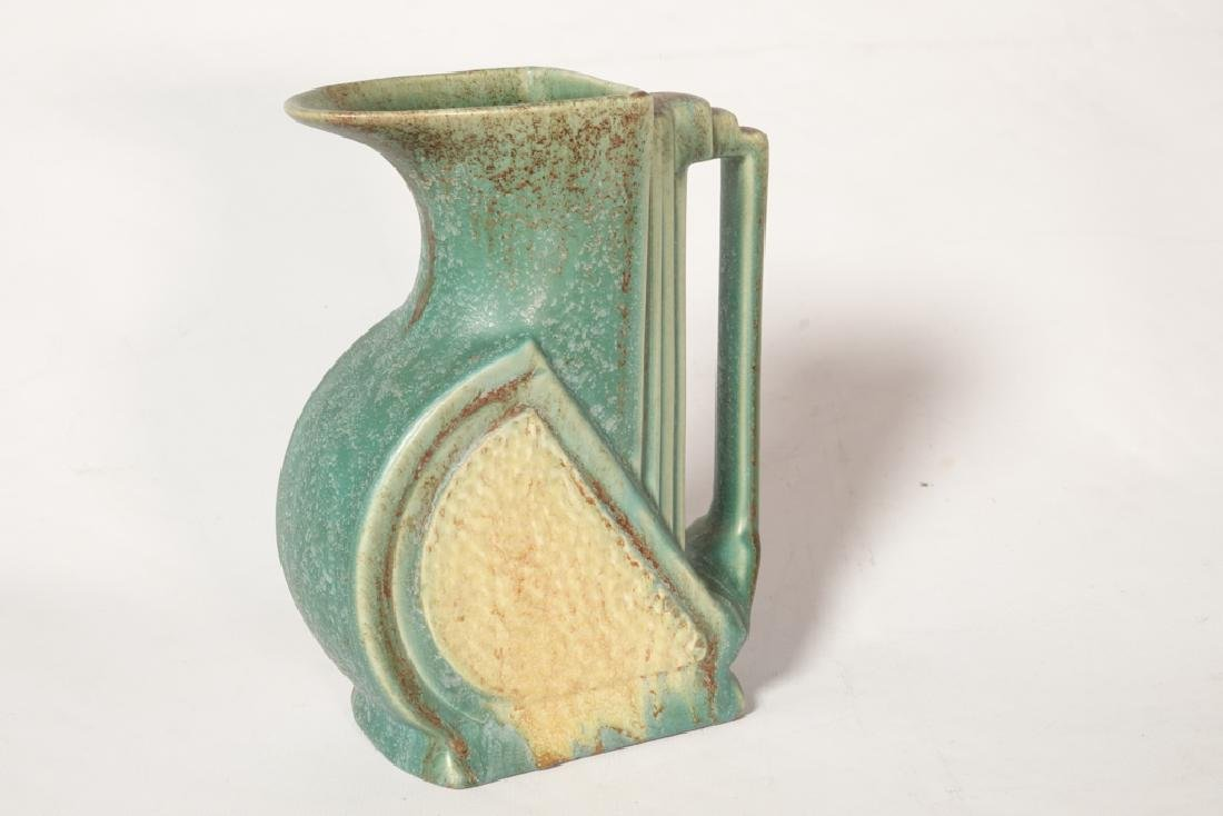 Mid 20th c Belgian Pottery Pitcher - 2