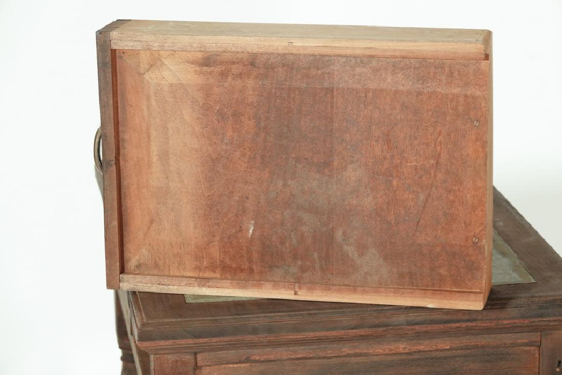 Two (2) Drawer Writing Table - 10