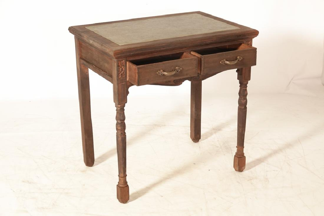 Two (2) Drawer Writing Table - 2