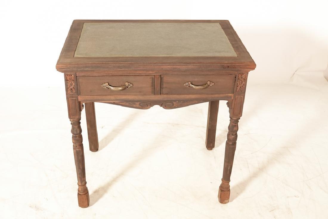 Two (2) Drawer Writing Table - 3