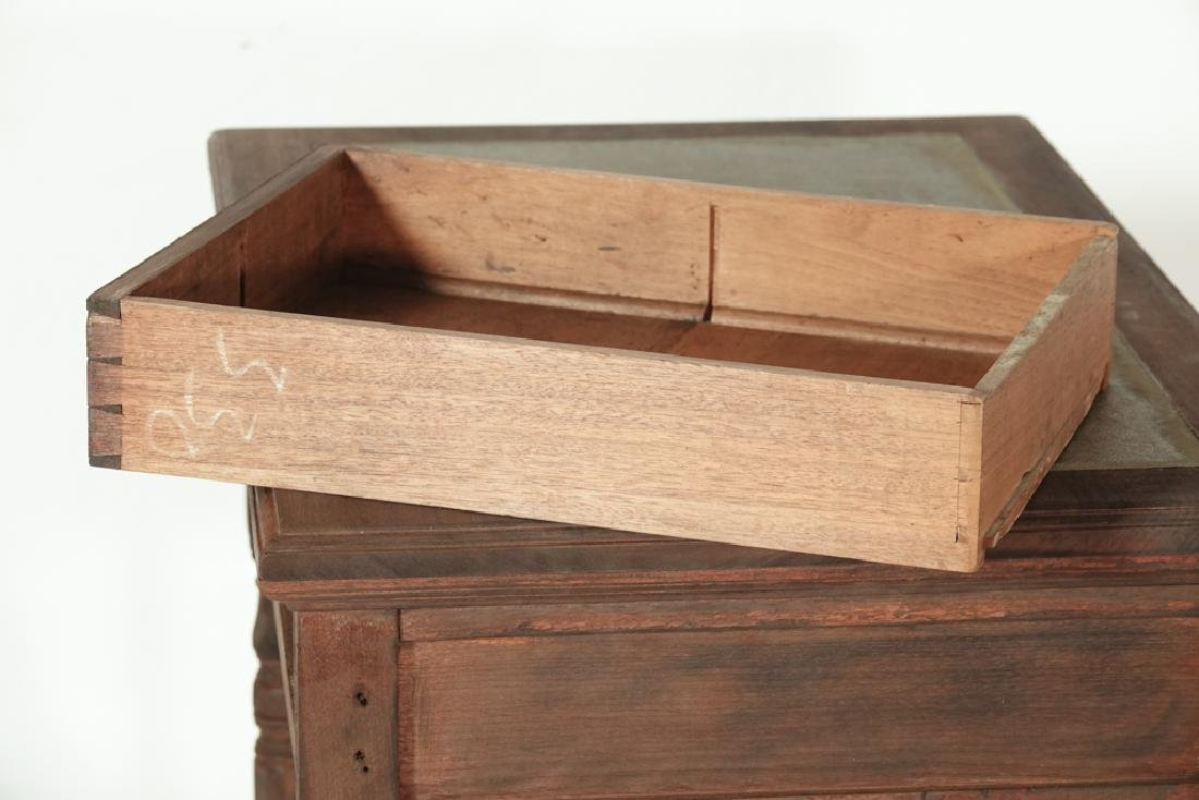 Two (2) Drawer Writing Table - 9