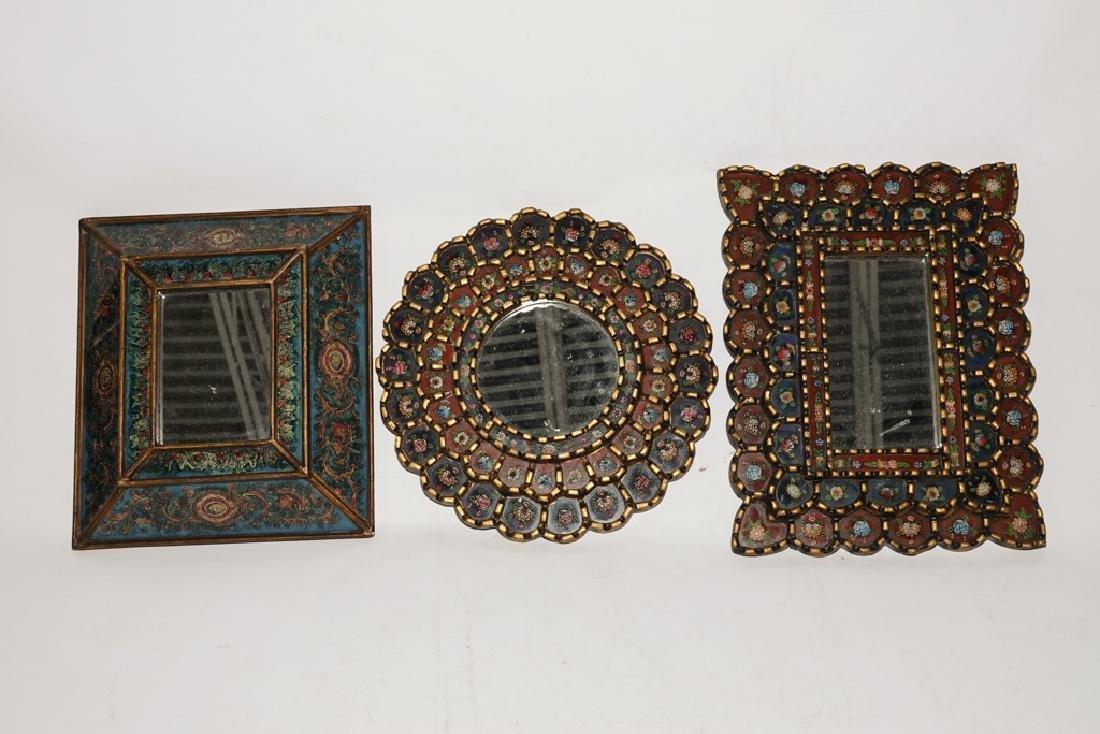 Three (3) Decorative Mirrors