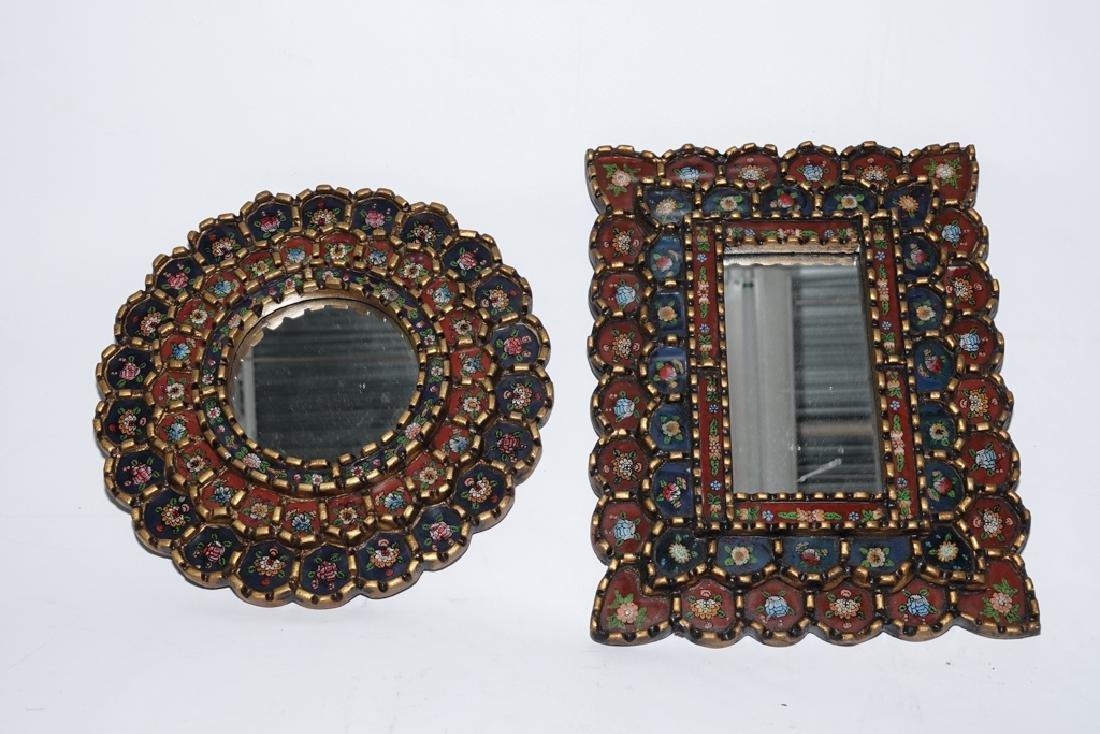 Three (3) Decorative Mirrors - 3