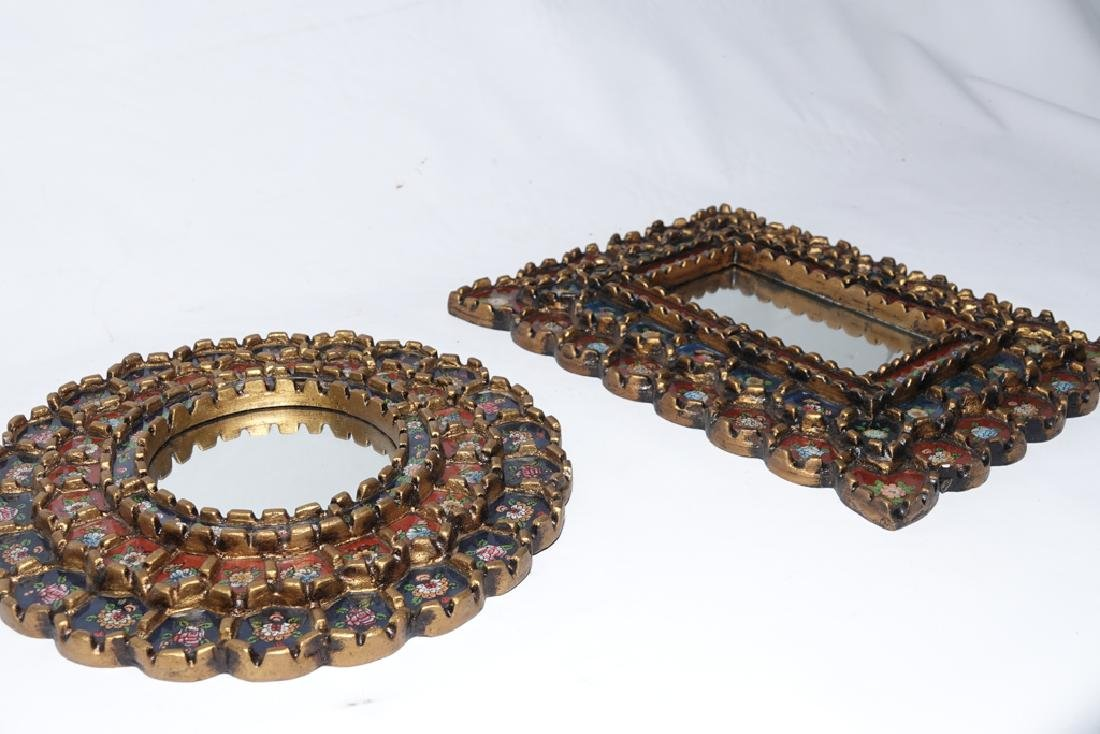 Three (3) Decorative Mirrors - 6