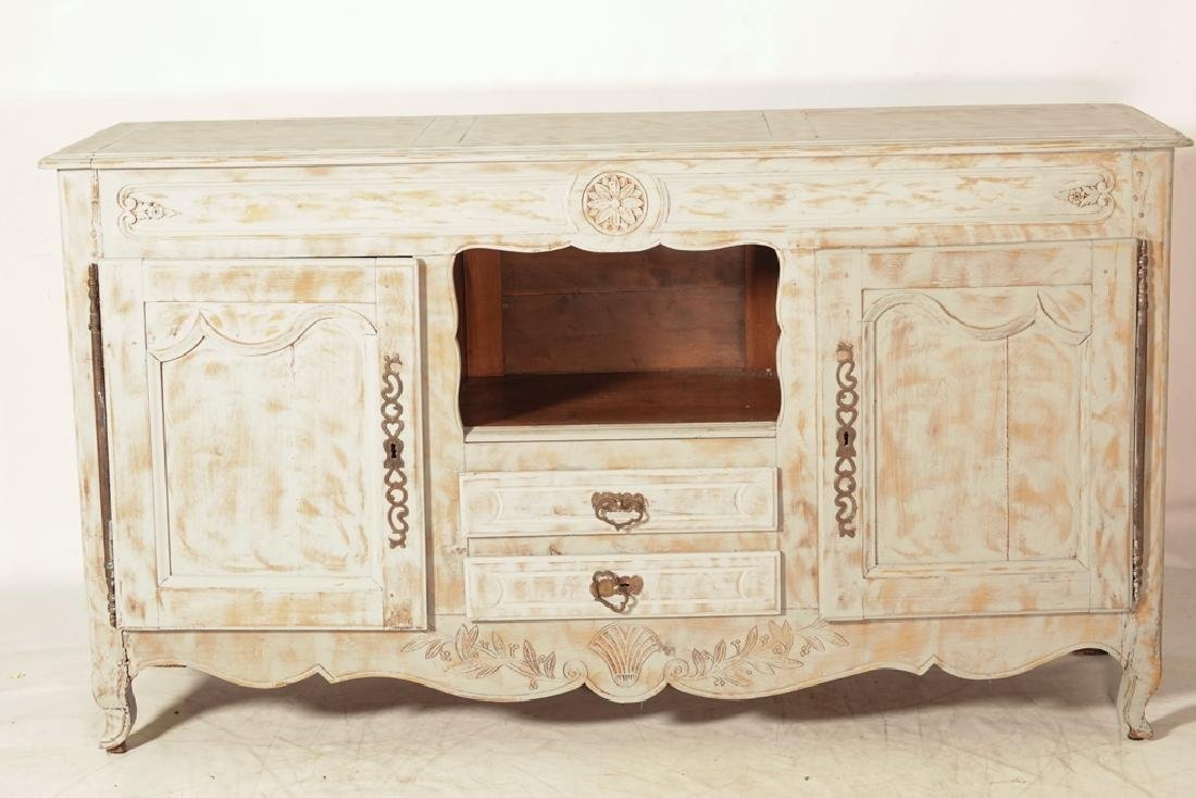 French Provincial Style Painted Sideboard - 10